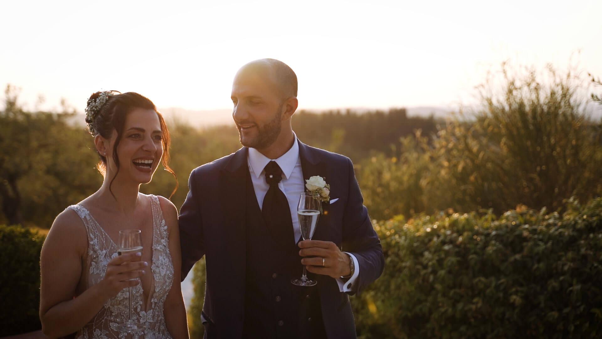 Wedding Film in Villa Petriccio Tuscany -3 Andrea e Francesca