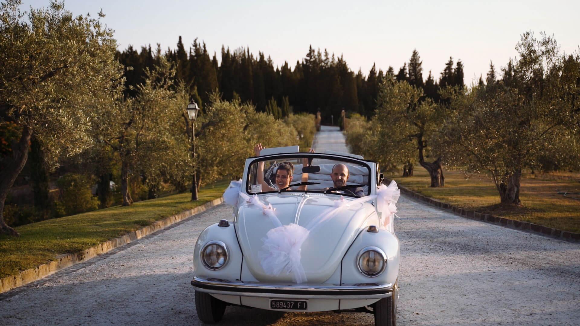 Wedding Film in Villa Petriccio Tuscany -2 Andrea e Francesca