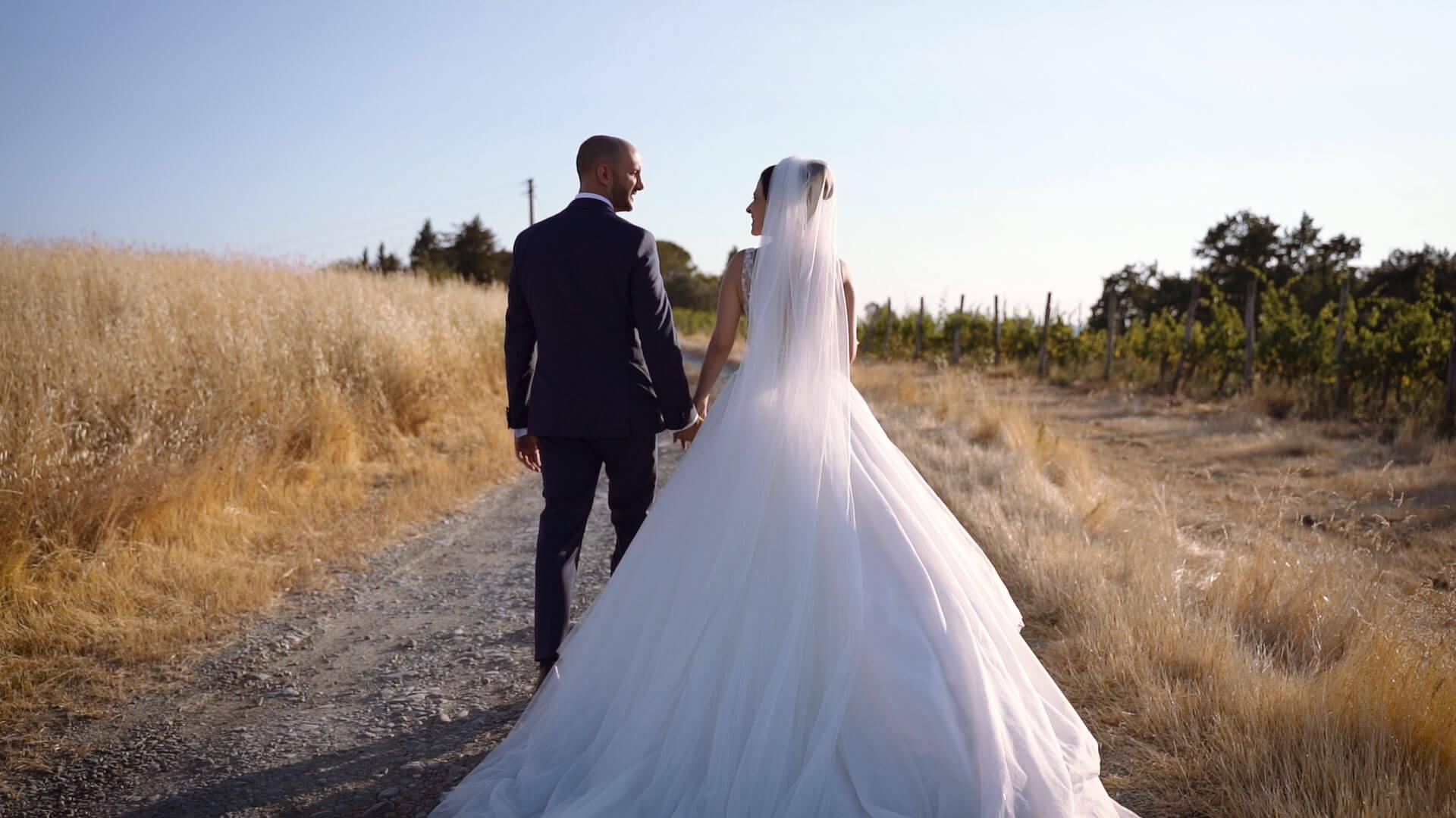 Wedding Film in Villa Petriccio Tuscany -1 Andrea e Francesca