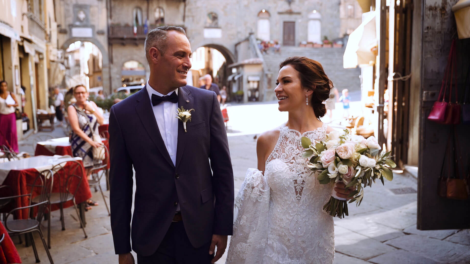 Wedding Film in Cortona Tuscany